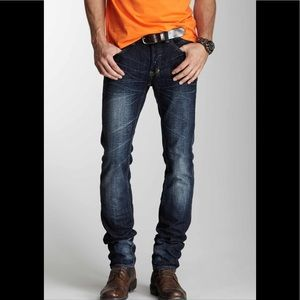 PRPS Rambler Skinny Jeans Indigo Sz 33 100% Cotton